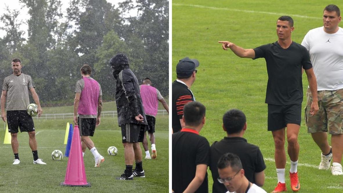 Dok Pjanić i društvo treniraju, Ronaldo zabavlja Kineze