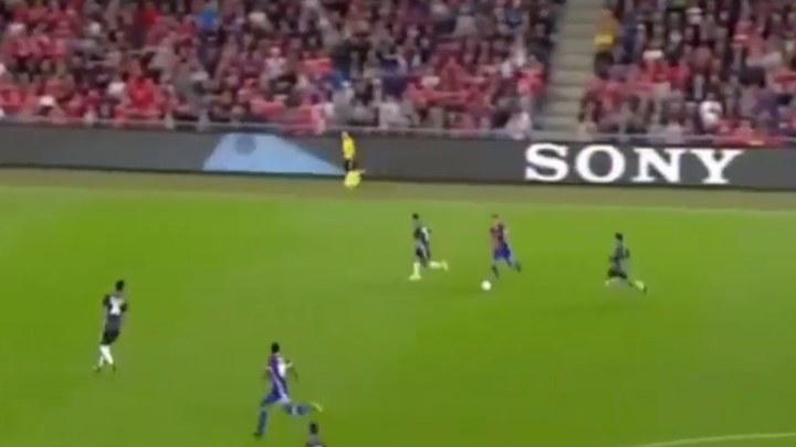Kakva brzina: Da li je to Usain Bolt u dresu Basela?