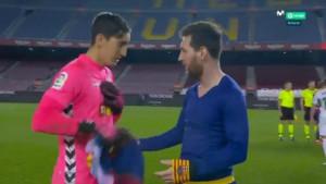 Golman Elchea tražio dres od Messija, a onda ostao iznenađen zahtjevom kapitena Barcelone