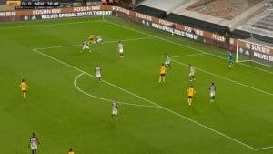 Podence driblingom osramotio dvojicu nogometaša Newcastlea