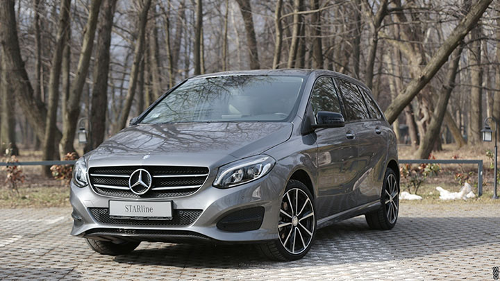 Test Mercedes-Benz B200d Urban