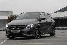 Test Mercedes-Benz B200d Urban