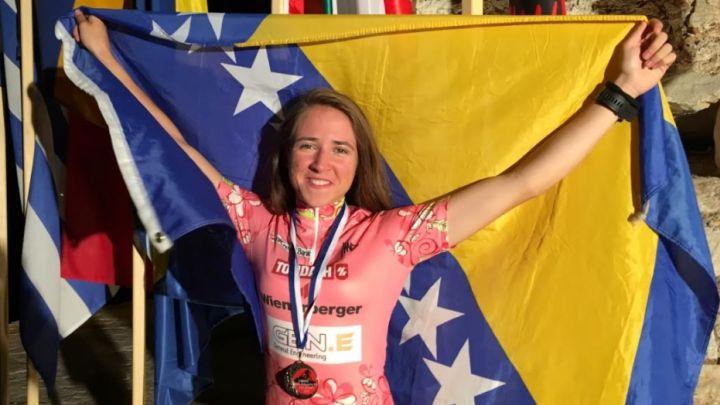 Lejla Tanović 74. biciklistkinja svijeta
