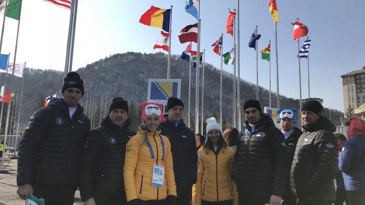 U Olimpijskom selu u PyeongChangu podignuta zastava BiH