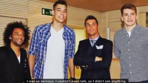 """Luka Dončić se prisjetio dana kada je upoznao Cristiana Ronalda: """"Nisam mogao da pričam..."""""""