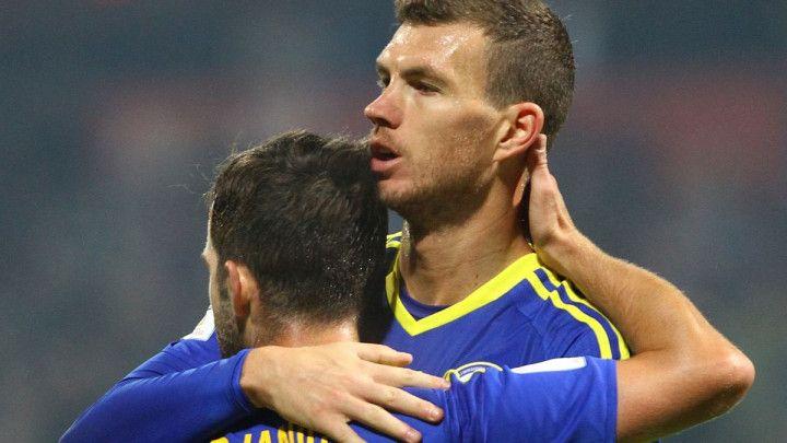 Džeko i Pjanić među najboljima u Evropi na svojim pozicijama