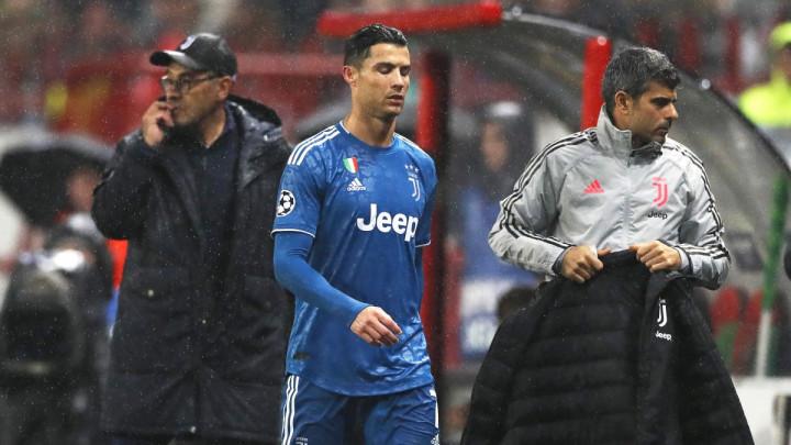 """Maurizio Sarri objasnio zašto je izveo Ronalda iz igre: """"Zahvalni smo mu, ali..."""""""