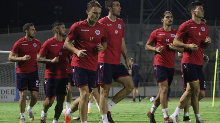 Plemići odradili posljednji trening pred okršaj protiv APOEL-a