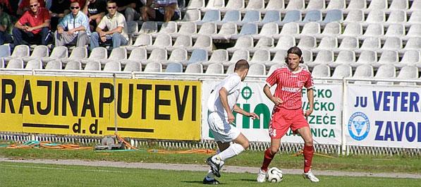 Utakmica Jedinstvo - Bratstvo registrirana rezultatom 0:3