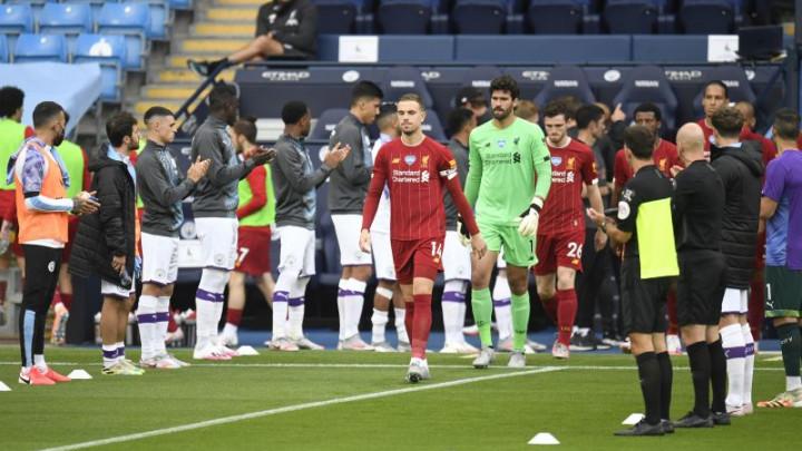 Svi nogometaši Manchester Cityja aplaudirali su igračima Liverpoola, osim jednog..