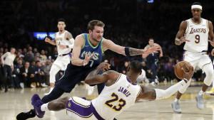 Dončić i društvo očitali lekciju LA Lakersima u Staples Centru!