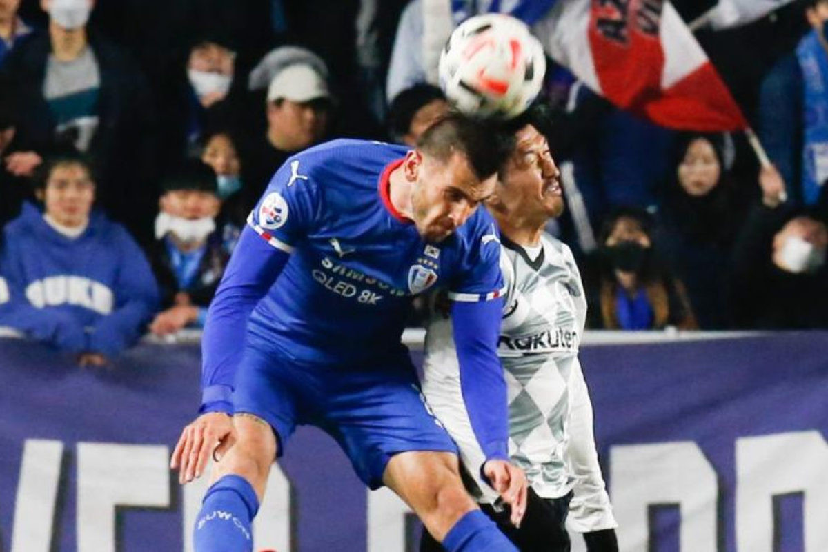 Krpićev gol nedovoljan, Suwon vodio 2:0, pa ponovo izgubio