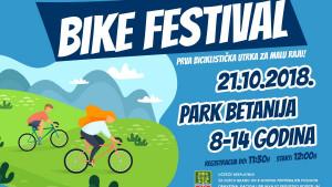 U nedjelju Bike festival biciklistička utrka za malu raju