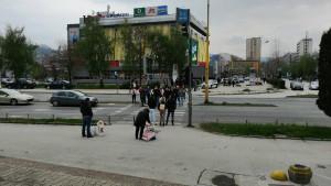 Navijači pristižu u Mejdan