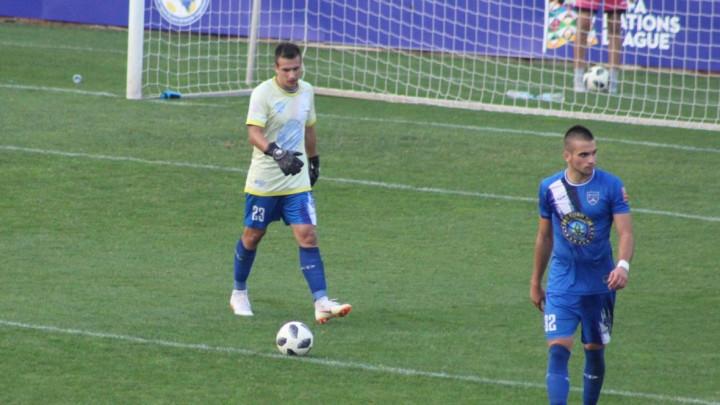 Nesvakidašnja scena u Zenici: Fudbaler morao stati na gol