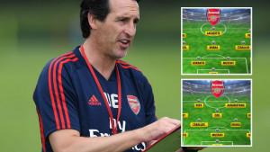 Kako će izgledati Arsenal? Emery razmišlja o dvije formacije, ali nema mjesta za Kolašinca