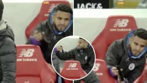 Mahrez uzeo mobitel od navijača i gledao da li je bio penal za Manchester City