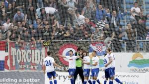Koreografija i bakljada koštale Hajduk dva meča pred praznim tribinama