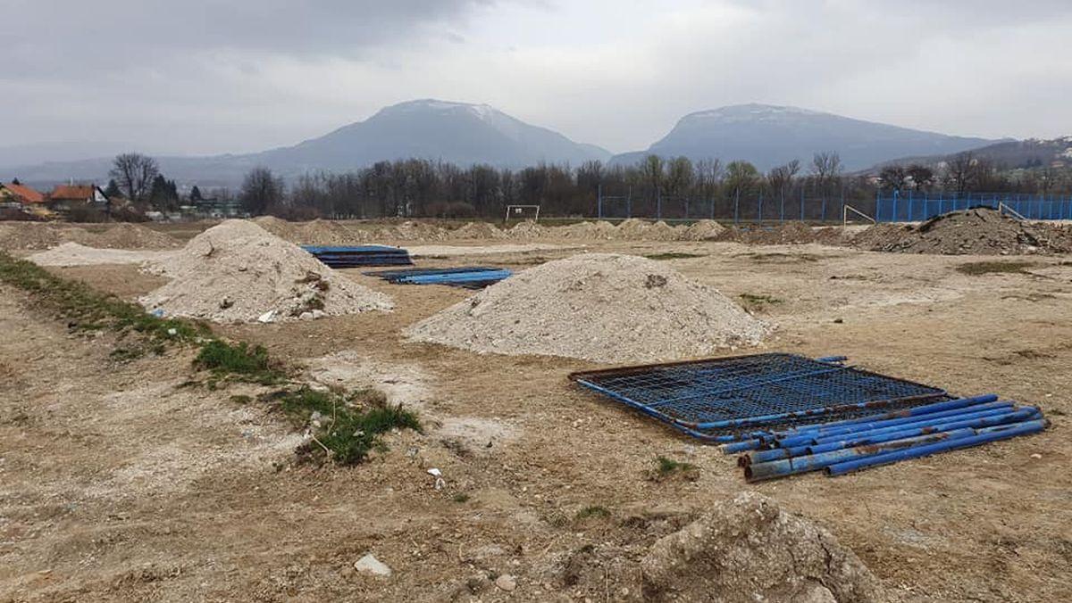 Stadion NK Iskra postao je pravo gradilište: Da li će se ostvariti planovi?