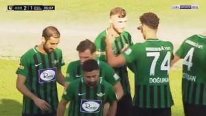 Fantastičan pogodak Irfana Hadžića za Akhisar