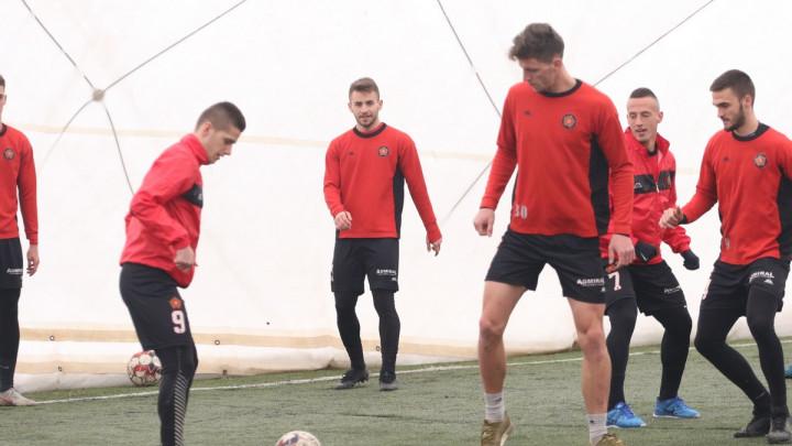 FK Sloboda odradio prvi trening nakon povratka iz Međugorja