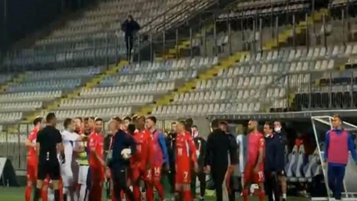 Fudbaleri Rijeke i Osijeka se potukli na parkingu Rujevice