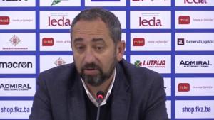 Karačić nakon pobjede na Grbavici: Mlađi igrači su 'svježa krv' i to može donijeti razliku u ligi
