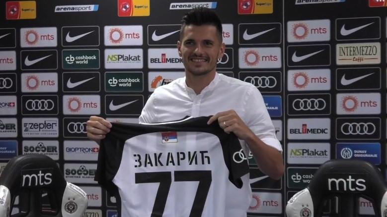 Goran Zakarić novi igrač Partizana!