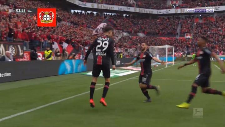 Ludnica u Leverkusenu! Čak sedam golova za samo 36 minuta!