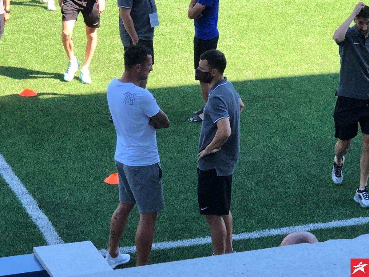 On će uvijek pamtiti FK Sarajevo: Bordo ekipu u Krupi dočekalo poznato lice