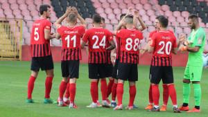 NK Čelik u kombinovanom sastavu protiv FK Rudar Kakanj