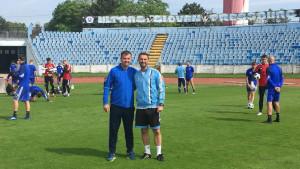 Duraković na stažiranju u Slovanu iz Bratislave