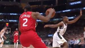 Leonard jednim potezom za sva vremena obrukao igrača Milwaukeea