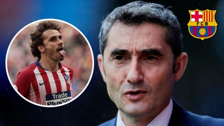 Valverde objasnio zašto Griezmann još uvijek nije potpisao za Barcelonu