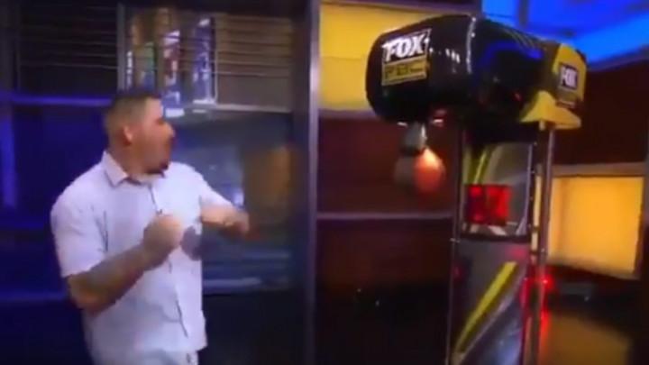 Andy Ruiz u TV showu nadmašio Joshuin rekord jačine udarca