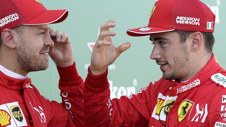 Vettel čestitao Leclercu na boljem učinku u kvalifikacijama