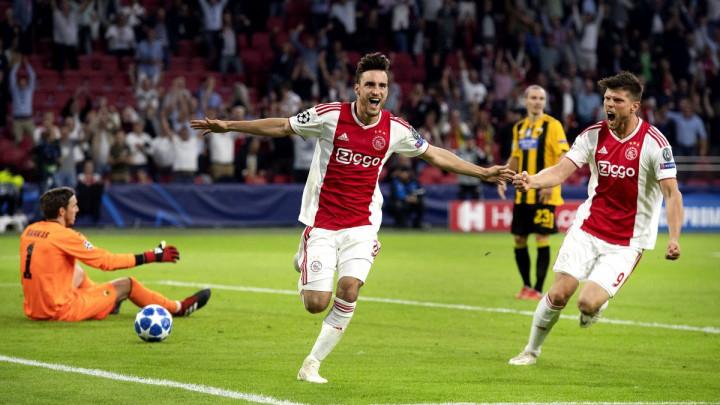 Ajax podsjetio na dane stare slave, remi Shakhtara i Hoffenheima