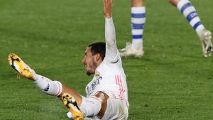 Hazard je u Realu dao tri gola, ima četiri asistencije i čak osam povreda!