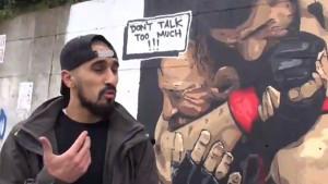 U Istanbulu mural na kojem Khabib davi McGregora
