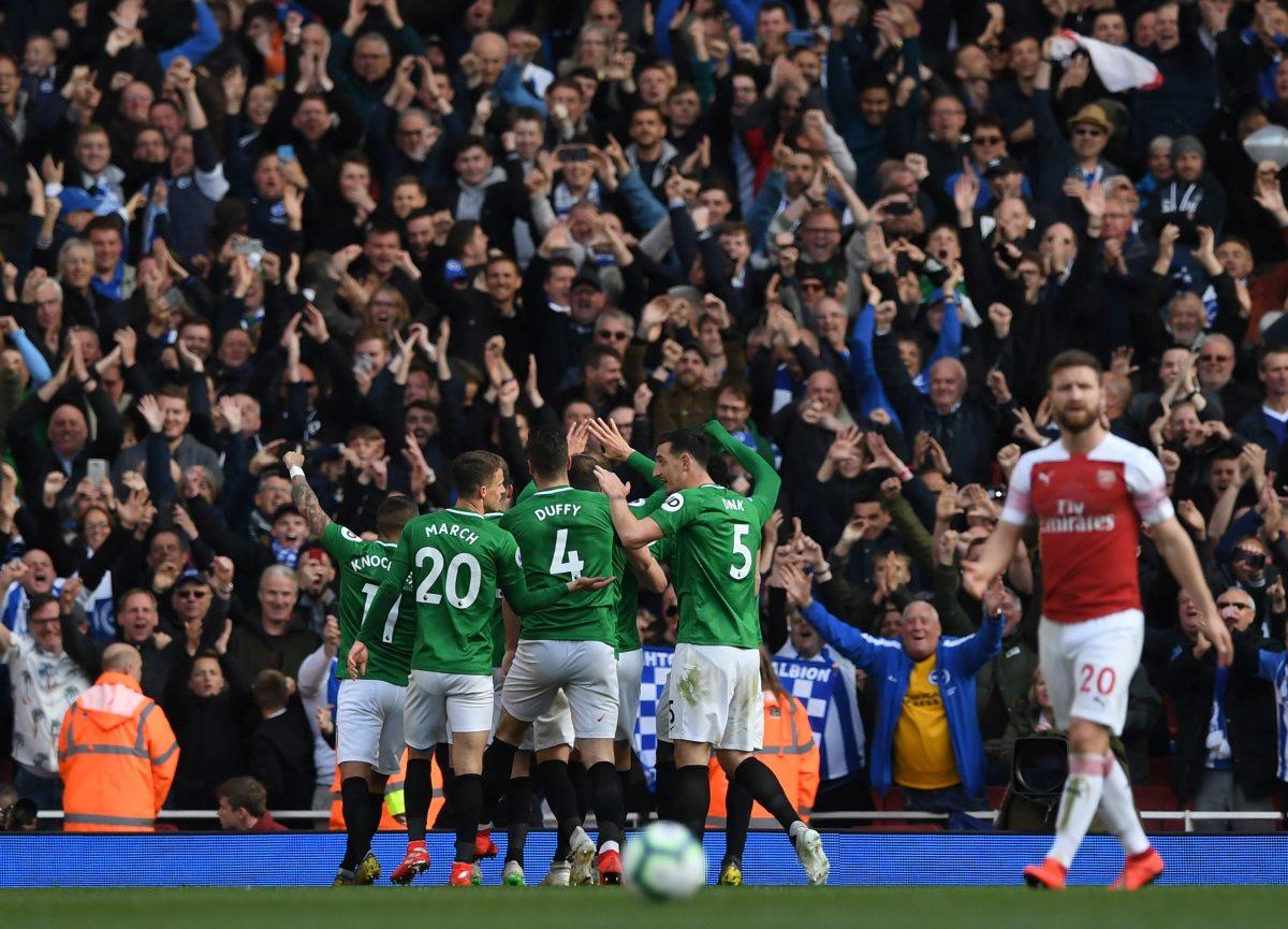 Arsenal remizirao sa Brightonom, Liga prvaka sve dalje