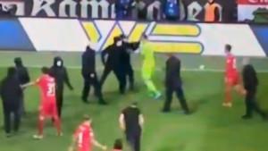 Haos nakon utakmice u Berlinu: Huligani krenuli u obračun, igrači im se suprotstavili