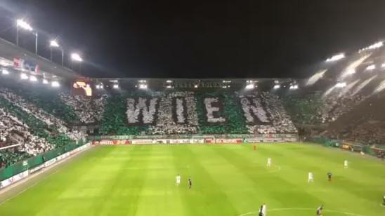 Spektakl na tribinama u Beču: Pogledajte kako je dočekan Inter!