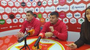 Dudić pred FK Željezničar: Za kraj želimo obradovati naše navijače