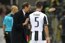 Allegri: Pjanić nije igrao jer ima problema s povredom