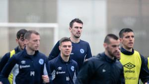 Enes Sipović odradio prvi trening sa FK Željezničar