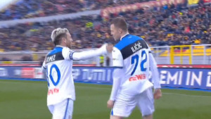 Josip Iličić ne zna postići 'normalan' gol, sada su mu žrtva čak trojica igrača Leccea