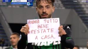 Proslava gola uz poruku Italijanima: Biće dobro, ostanite u kućama...