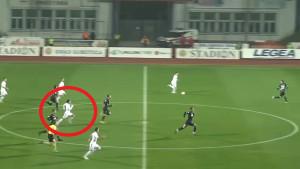 Igrač Partizana kao da je upalio motor: Sprint koji se rijetko viđa na fudbalskim terenima
