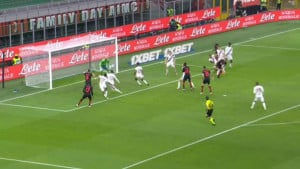 Iz prvog ozbiljnijeg napada Milan poveo: Zasluge za gol uveliko pripadaju Kruniću