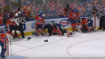 Tuča na ledu: Lučić započeo tuču